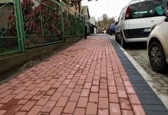 Nowy chodnik przy ul. Ogrodowej we Władysławowie