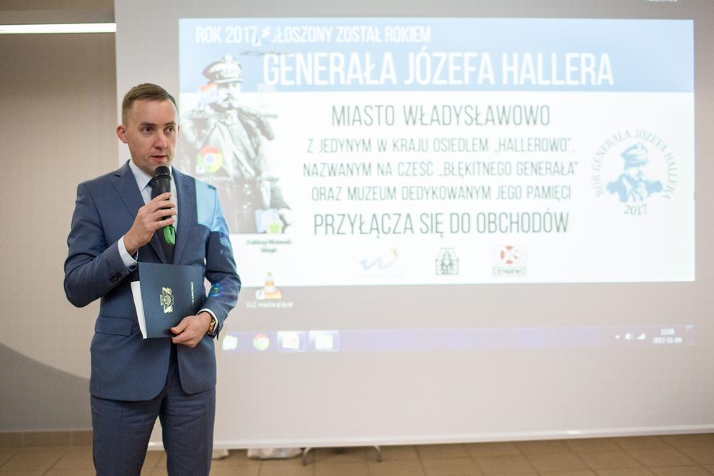 Obraz Józefa Hallera w polskiej historiografii - konferencja we Władysławowie (link otworzy duże zdj�