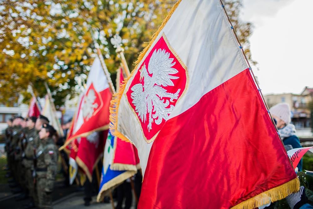 Obchody Narodowego Święta Niepodległości we Władysławowie (link otworzy duże zdjęcie)