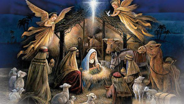Konkurs na szopkę bożonarodzeniową (link otworzy duże zdjęcie)