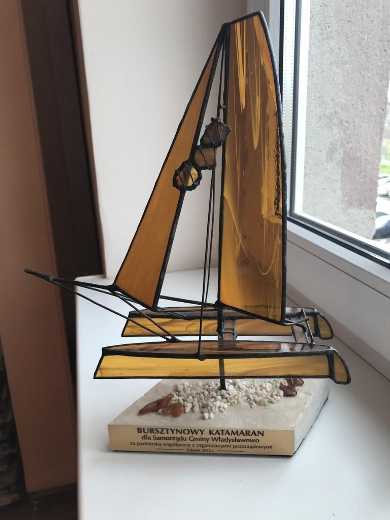 Nagroda Bursztynowego Katamaranu 2015 dla Gminy Władysławowo (link otworzy duże zdjęcie)