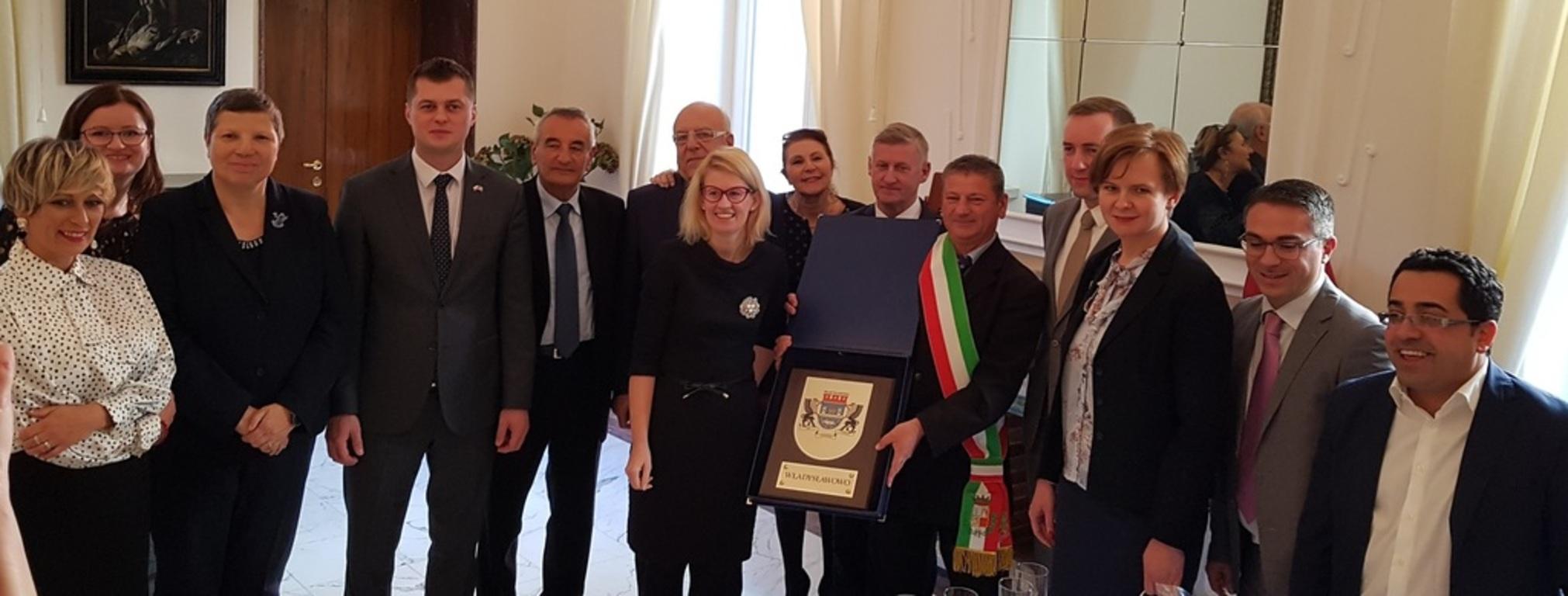 Współpraca z włoską gminą Scalea stała się faktem (link otworzy duże zdjęcie)