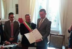 Współpraca z włoską gminą Scalea stała się faktem (fot. Eugenio Orrico)