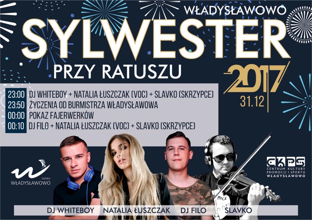 Sylwester przy Ratuszu - Władysławowo 2017 (link otworzy duże zdjęcie)
