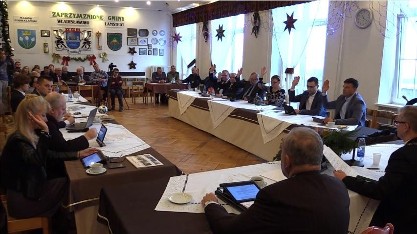 Sesja Rady Miejskiej Władysławowa - rekordowy budżet Gminy Władysławowo na rok 2018 (link otworzy du