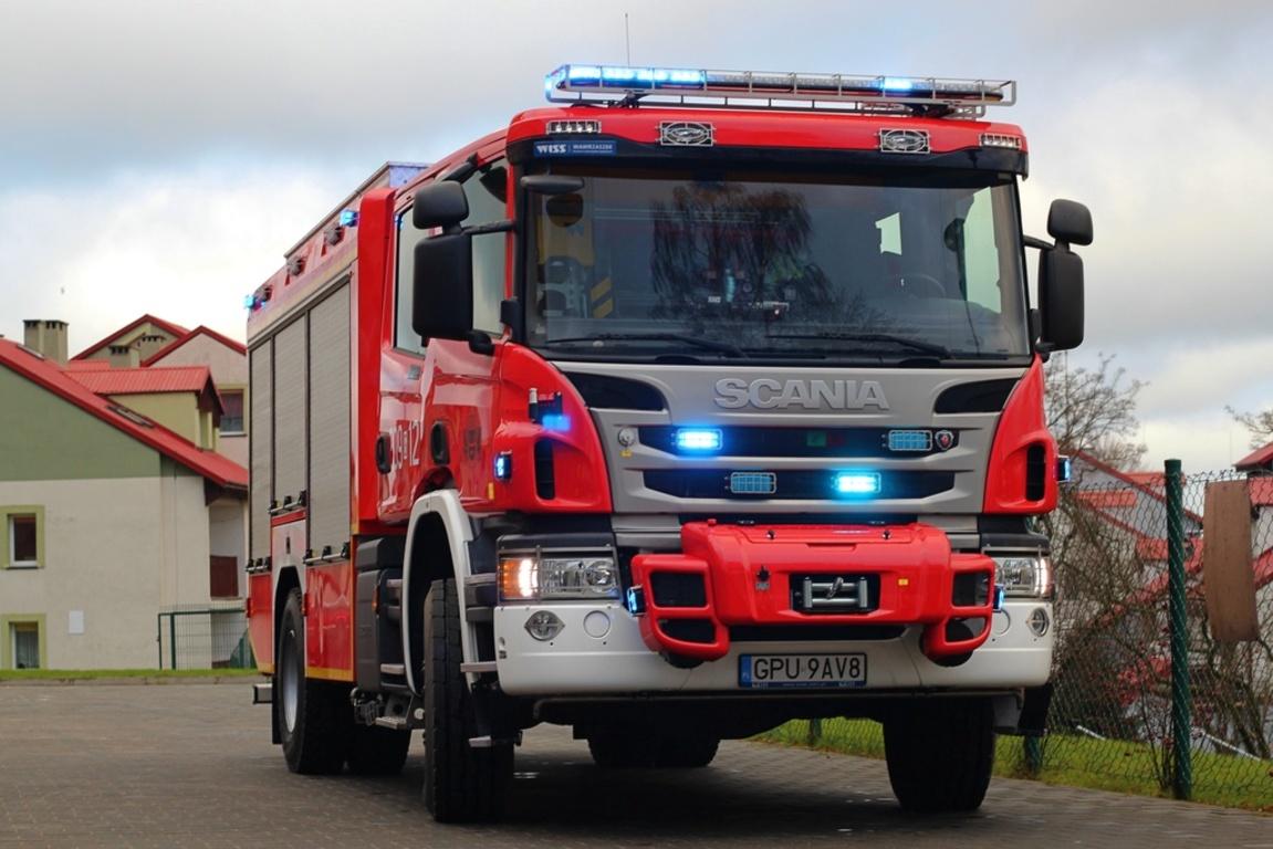 Straż pożarna we Władysławowie otrzymała nowy pojazd (link otworzy duże zdjęcie)