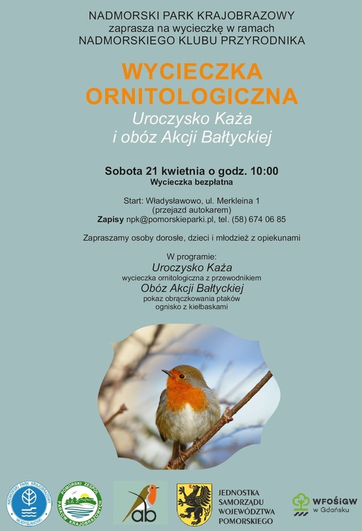 Bezpłatna Wycieczka ornitologiczna (link otworzy duże zdjęcie)