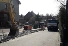 Budowa ul. Górnej w Jastrzębiej Górze