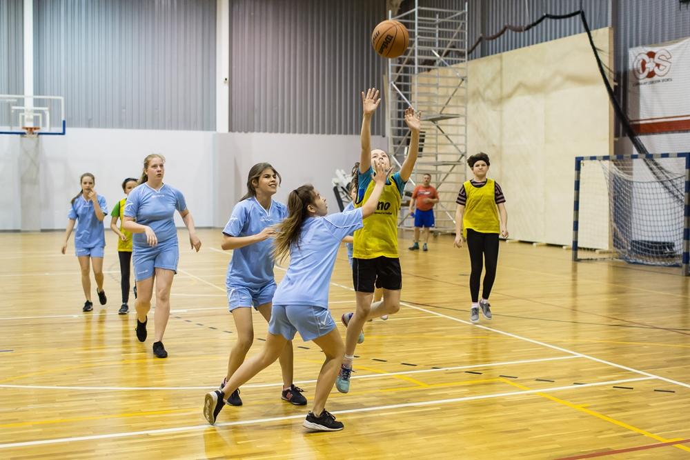 Miejskie Igrzyska Młodzieży Szkolnej w Koszykówkę (link otworzy duże zdjęcie)