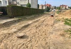 Ulica Floriana Ceynowy w przebudowie