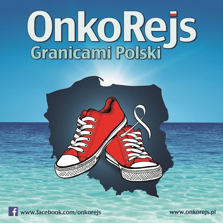 Marsz Onkorejs granicami Polski (link otworzy duże zdjęcie)