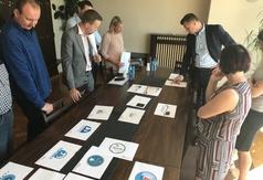 Posiedzenie komisji w sprawie wyboru logo sołectwa Tupadły