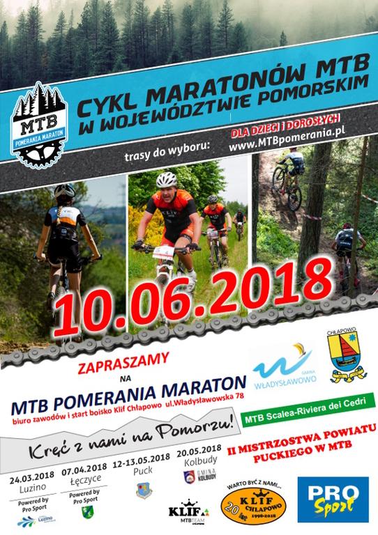MTB Pomerania Maraton 2018, V edycja, Chłapowo  (link otworzy duże zdjęcie)