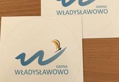 Naklejki z logo Gminy Władysławowo