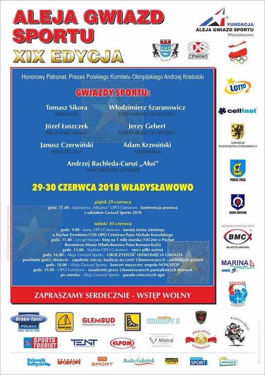 XIX edycja Alei Gwiazd Sportu (link otworzy duże zdjęcie)