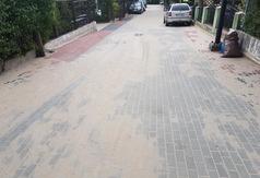 Ulica Górna w Jastrzębiej Górze wybudowana
