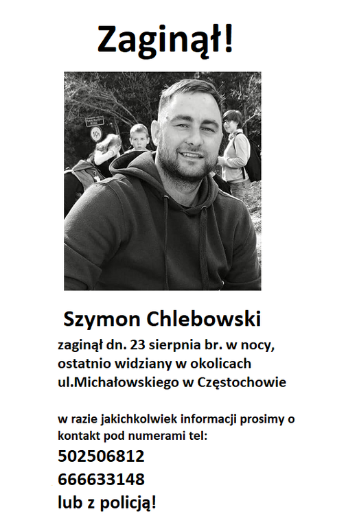 Zaginął, był widziany we Władysławowie (link otworzy duże zdjęcie)