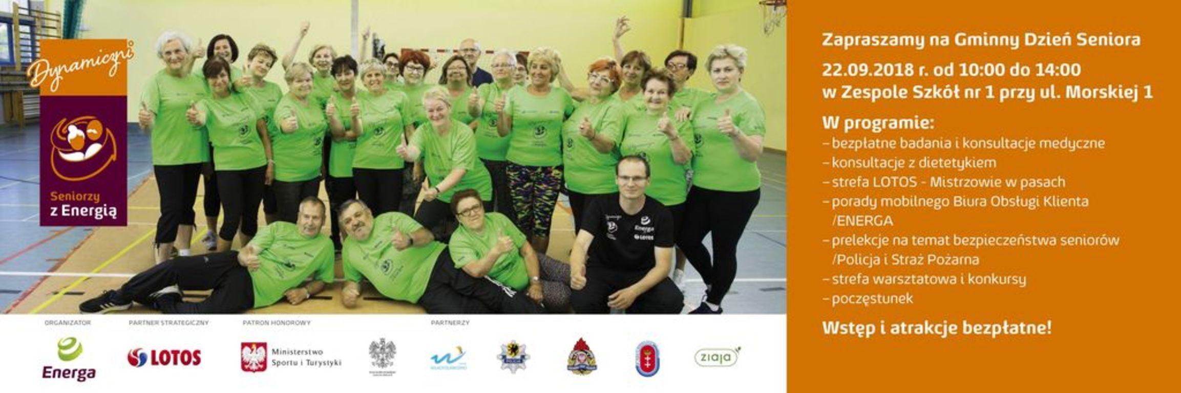 Dzień Seniora Grup Energa i LOTOS we Władysławowie (link otworzy duże zdjęcie)