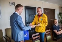 Burmistrz podziękował ratownikom za sezon letni 2018