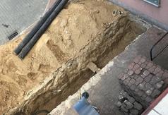 Budowa przyłącza wraz z węzłem ciepłowniczym przy Domu Rybaka