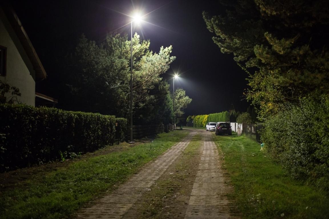 Władysławowo Ponad 70 Nowych Lamp W Gminie Władysławowo