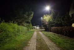 Oświetlenie przy ul. Biwakowej w Ostrowie