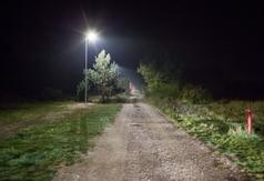 Oświetlenie przy ul. Kasztanowej w Ostrowie