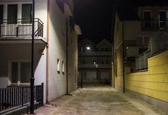 Oświetlenie przy ul. Motelowej w Jastrzębiej Górze