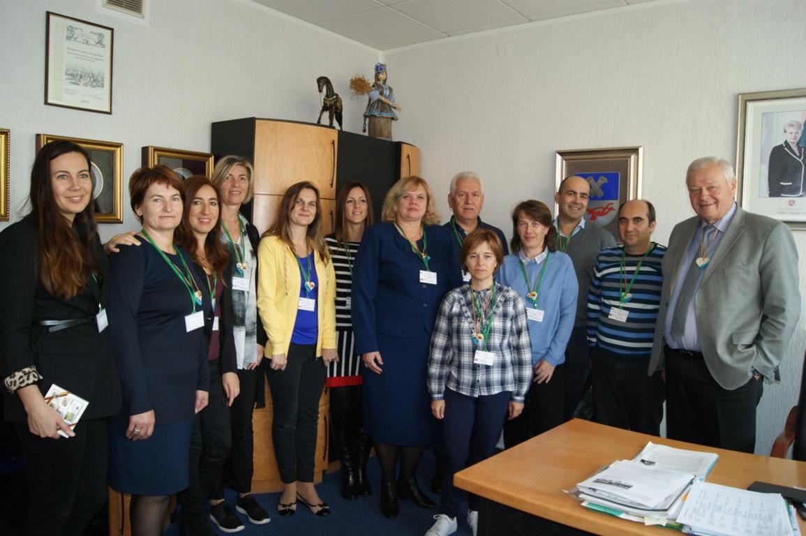 Wizyta nauczycieli z SP2 Władysławowo na Litwie - Erasmus+ (link otworzy duże zdjęcie)