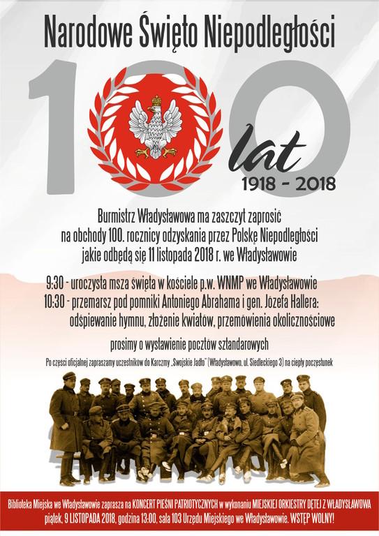Gminne obchody 100. rocznicy Odzyskania Niepodległości (link otworzy duże zdjęcie)