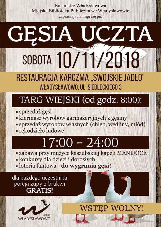 Gęsia Uczta - Władysławowo, 10 listopada 2018 (link otworzy duże zdjęcie)