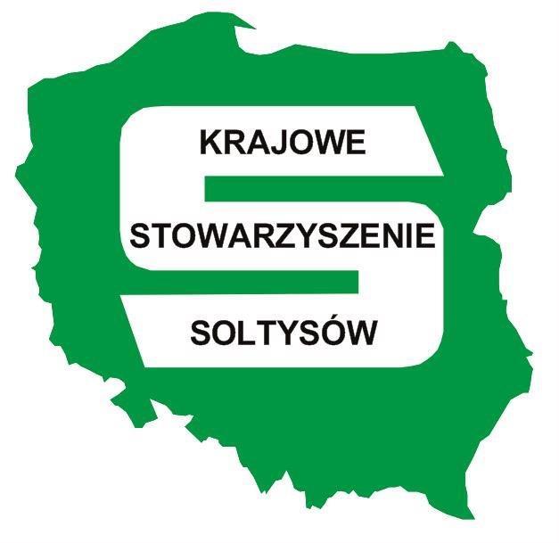Logo Krajowe Stowarzyszenie Sołtysów (link otworzy duże zdjęcie)