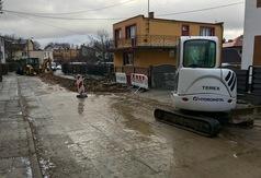 Trwa budowa ul. Długiej we Władysławowie (fot. Konrad Kędzior)