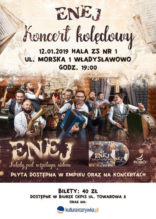 Koncert kolędowy ENEJ - Władysławowo, 12 stycznia 2019 (link otworzy duże zdjęcie)