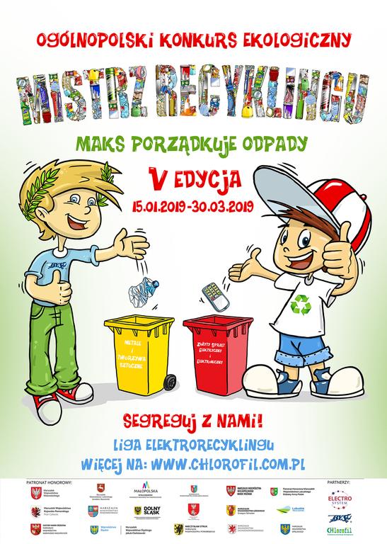 Konkurs ekologiczny dla uczniów Szkół Podstawowych (link otworzy duże zdjęcie)