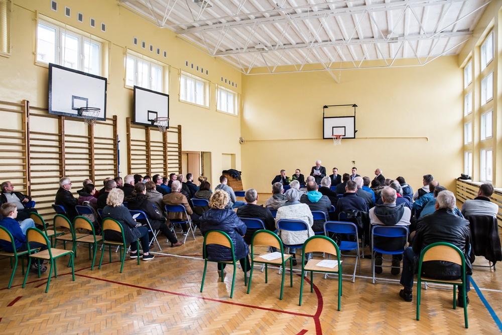 Spotkanie z mieszkańcami osiedla Szotland (link otworzy duże zdjęcie)