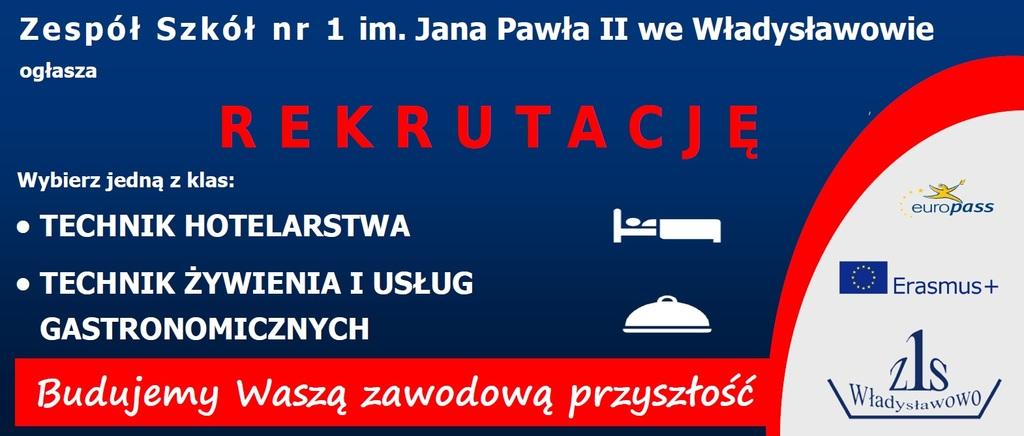 Rekrutacja w Zespole Szkół nr 1 we Władysławowie (link otworzy duże zdjęcie)