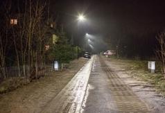 Nowe oświetlenie przy ulicy Porazińskiej we Władysławowie