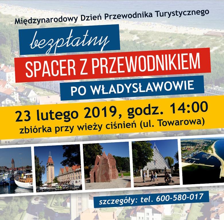 Międzynarodowy Dzień Przewodnika Turystycznego - bezpłatny spacer po Władysławowie (23.02.2019) (lin