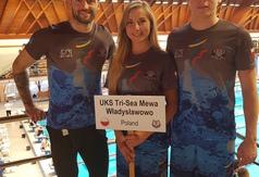 Tri-Sea Mewa Władysławowo na międzynarodowych zawodach pływackich