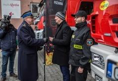 Nowy sprzęt i wóz dla OSP Jastrzębia Góra