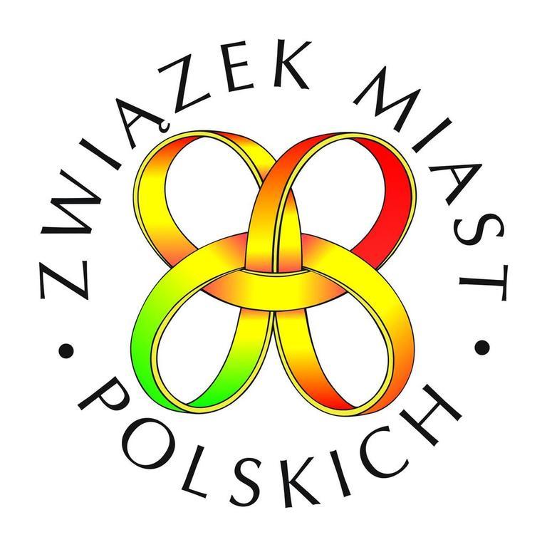 Związek Miast Polskich - logo (link otworzy duże zdjęcie)