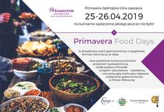 Zapraszamy na Primavera Food Days