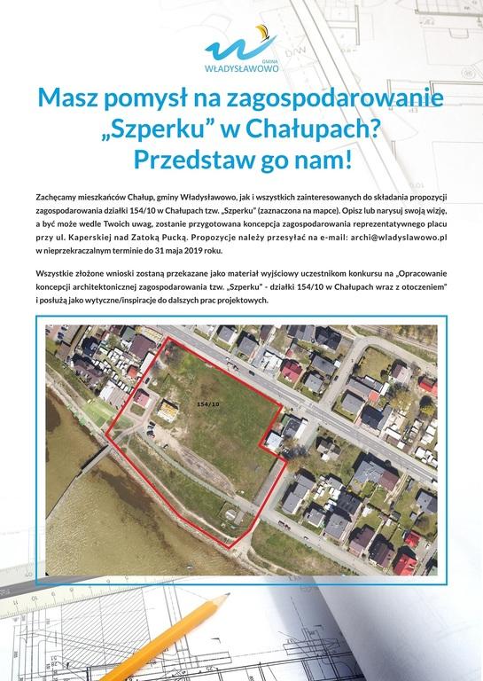 Przedstaw pomysł na zagospodarowanie Szperku w Chałupach (link otworzy duże zdjęcie)