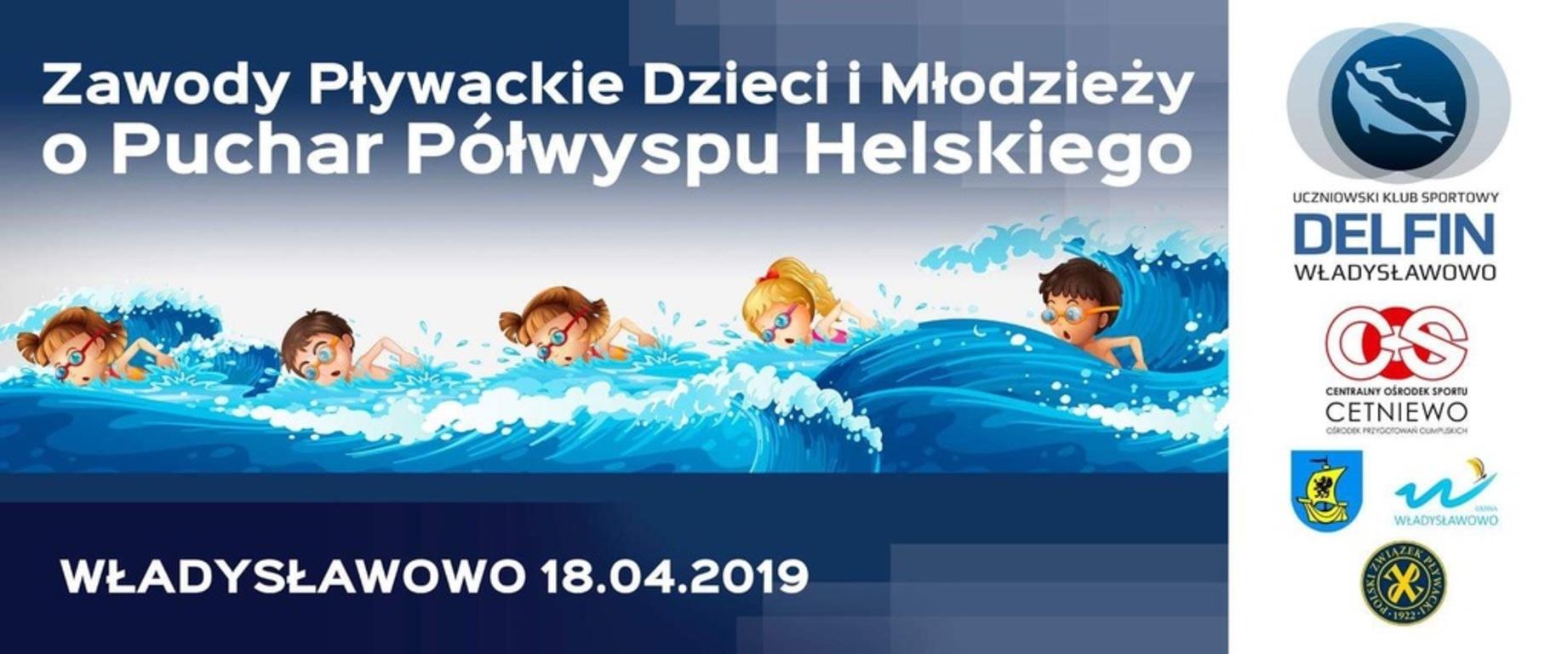 I Zawody Pływackie o Puchar Półwyspu Helskiego (link otworzy duże zdjęcie)