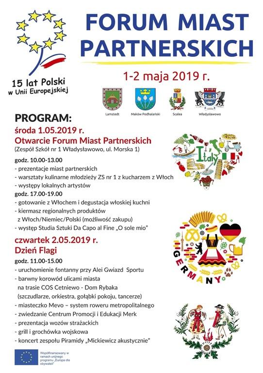 Forum Miast Partnerskich we Władysławowie (link otworzy duże zdjęcie)