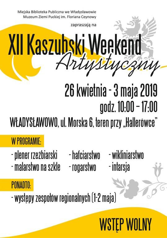 XII Kaszubski Weekend Artystyczny - Władysławowo 2019 (link otworzy duże zdjęcie)