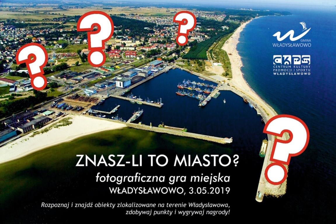 Fotograficzna Gra Miejska Znasz-li to miasto? - Władysławowo 2019 (link otworzy duże zdjęcie)