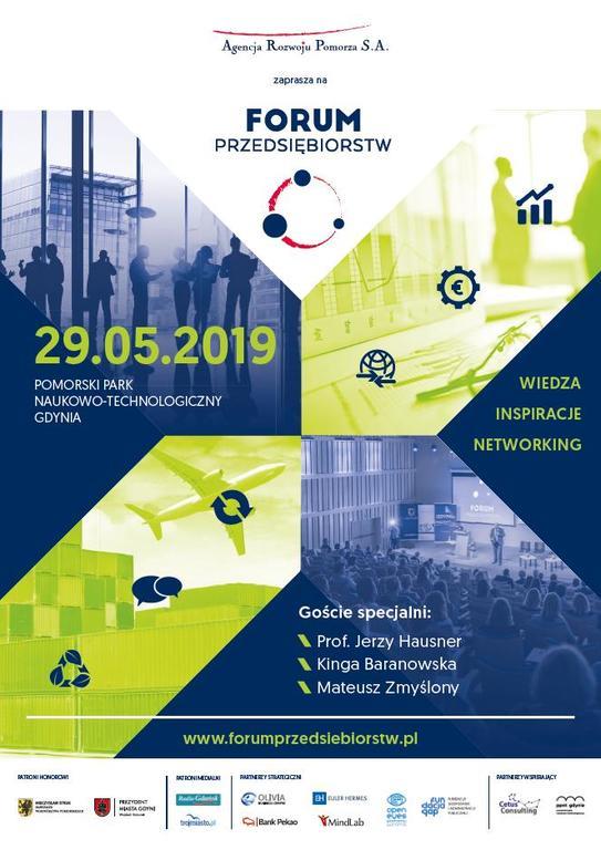 Forum Przedsiębiorstw w Gdyni (link otworzy duże zdjęcie)