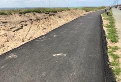 Budowa ścieżki rowerowej w Chałupach na finiszu